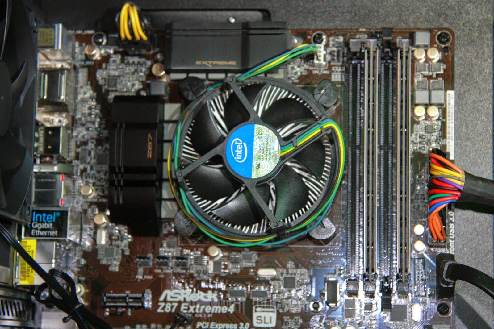 Chłodzenie Intela z bliska