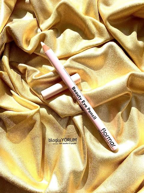 flormar beauty eye pencil 01 creamy beige