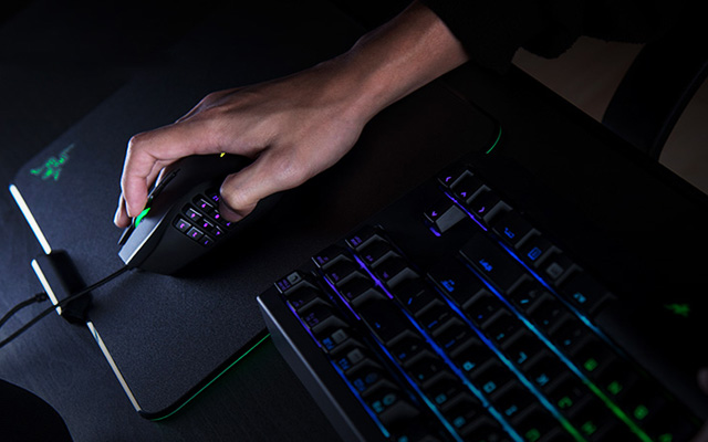 mouse gamer razer naga
