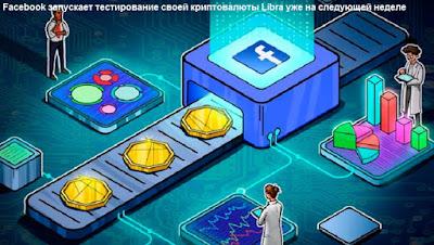 Facebook запускает тестирование своей криптовалюты Libra уже на следующей неделе