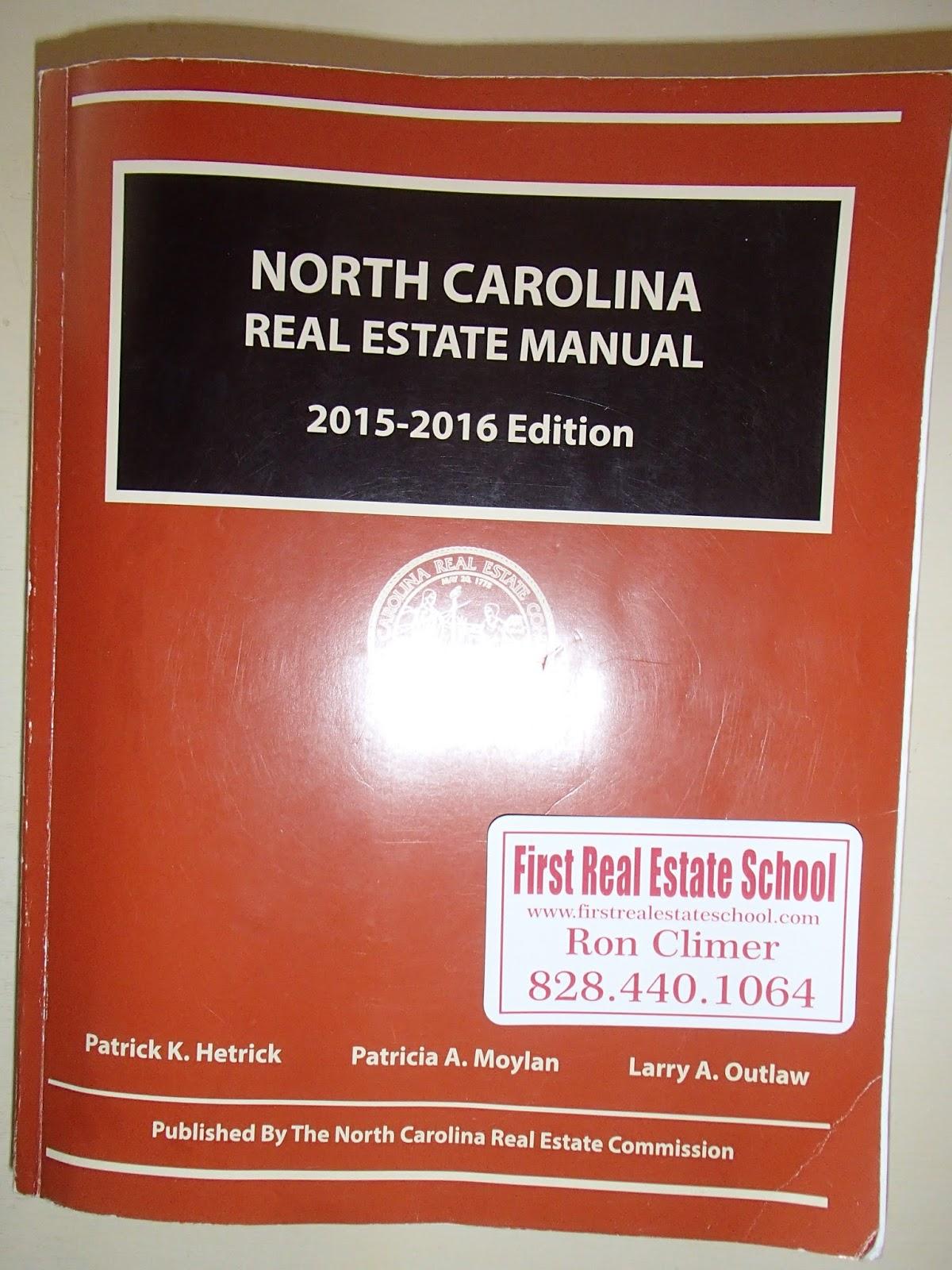 ron climer mountain messages free north carolina real estate manual rh rondclimer blogspot com north carolina real estate manual 2015-16 edition north carolina real estate manual
