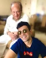 Karanvir Sharma with her father