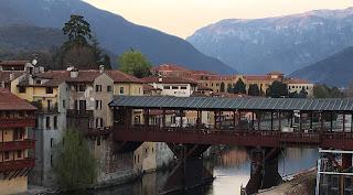 The Ponte degli Alpini was designed by the great architect Andrea Palladio
