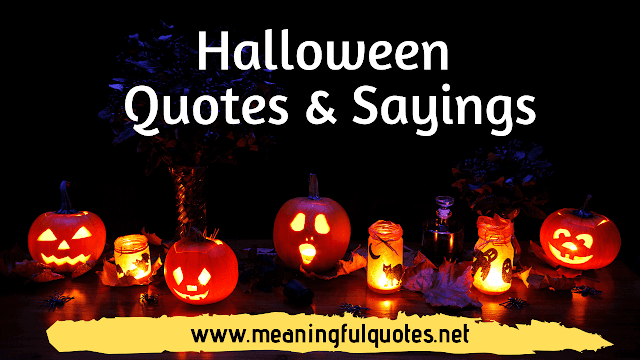 halloween quotes sayings