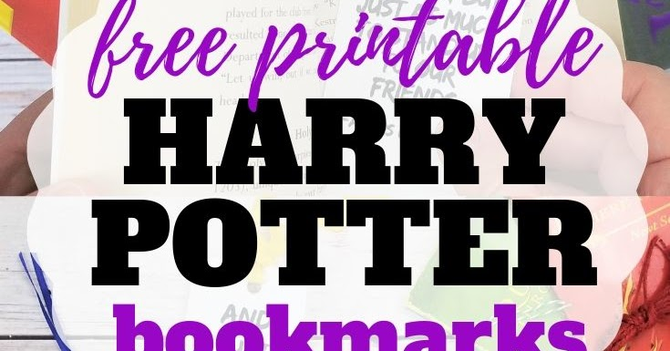 graphic regarding Free Printable Harry Potter Bookmarks referred to as 4 Magical and Free of charge Harry Potter Bookmarks Sew Basic House