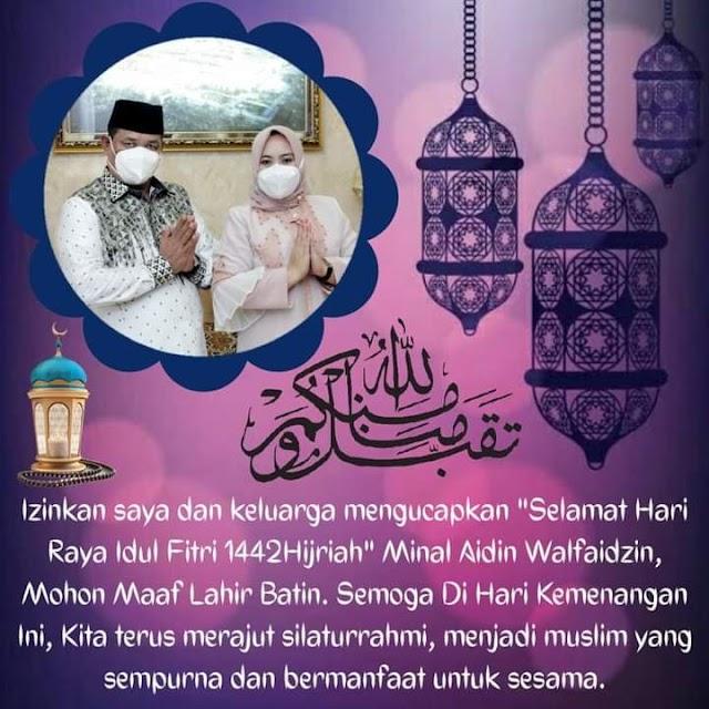 Kades Segaramakmur Tarumajaya Mengucapkan Selamat Hari Raya Idul Fitri 1442 H