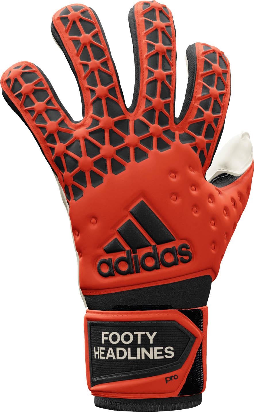 Red Adidas Ace 2015-2016 Goalkeeper Gloves Released ... |Goalkeeper Gloves Adidas 2015