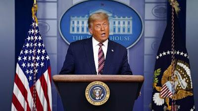Trump Teriak 'Curang' Saat Biden Hampir Menang