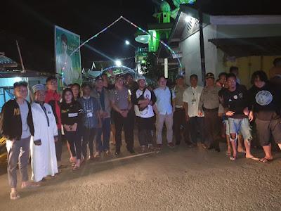 Ratusan Personel Polres Minsel Kawal Malam Takbiran
