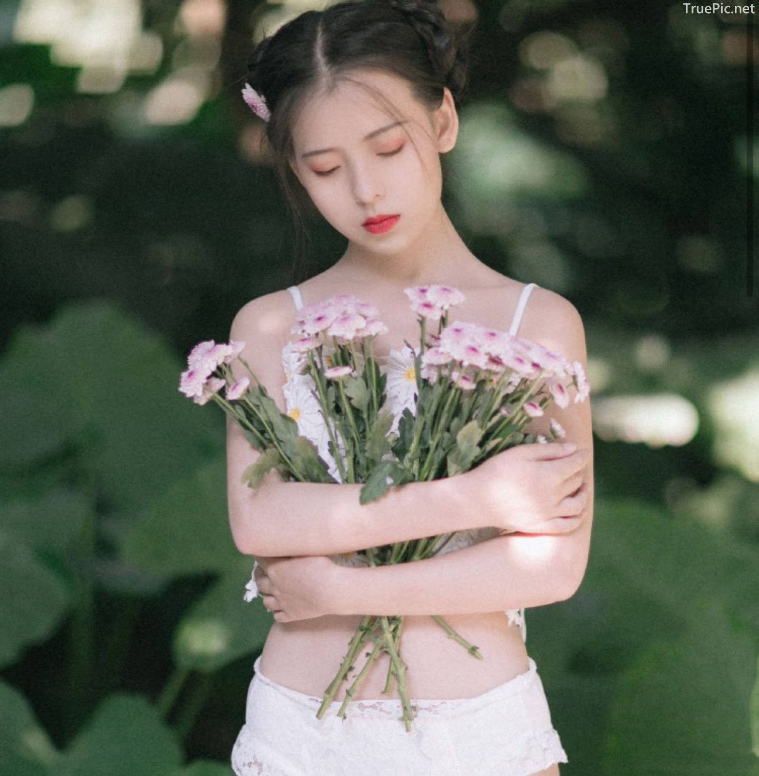 Chinese model - Welcome sunshine with fairy of flowers - Picture 6