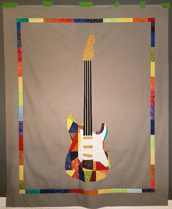 Rock Concert quilt top | DevotedQuilter.com