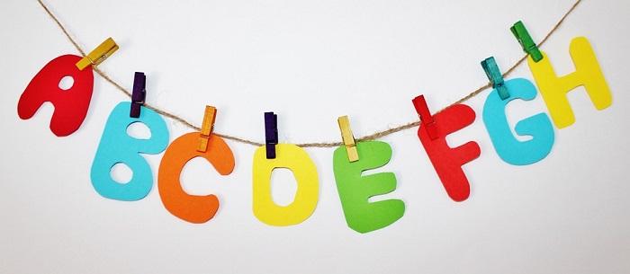 abecedario alfabeto