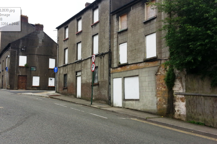 Abandoned building, mary street, new ross