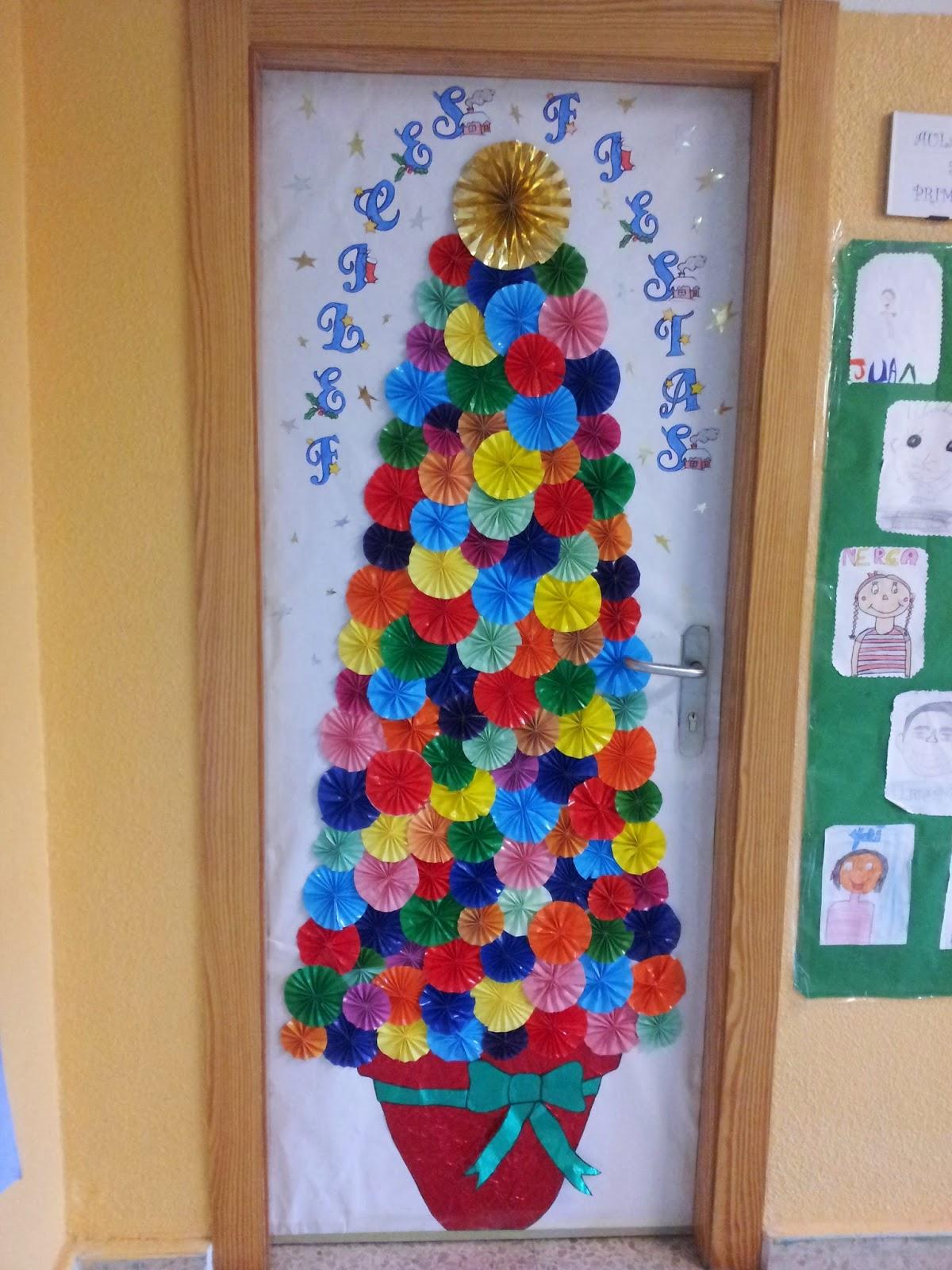 Decoracion de puertas de navidad decoracion puertas for Puertas decoradas navidad colegio