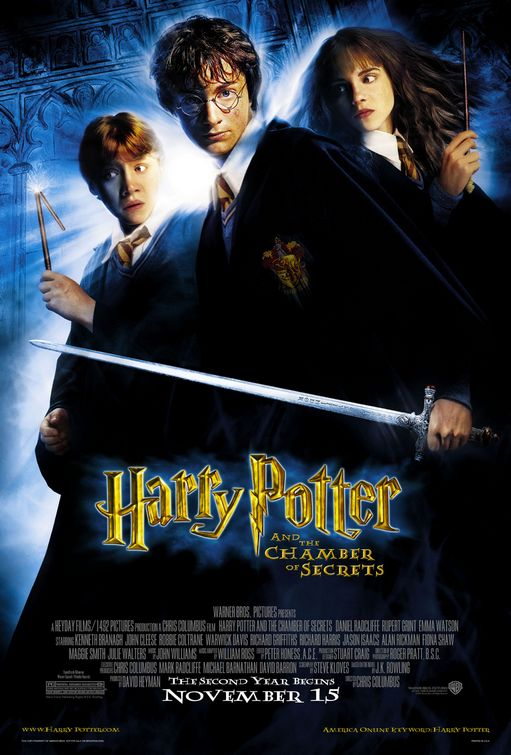Harry Potter Chamber of Secrets poster