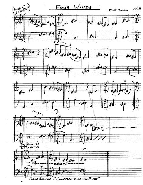 Partitura Saxofón Dave Holland