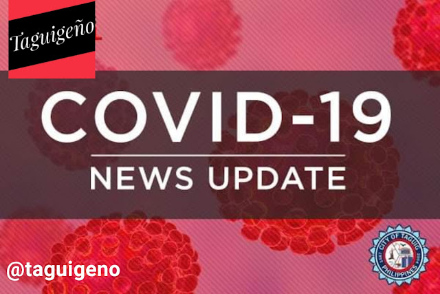Taguig City COVID-19 update coronavirus