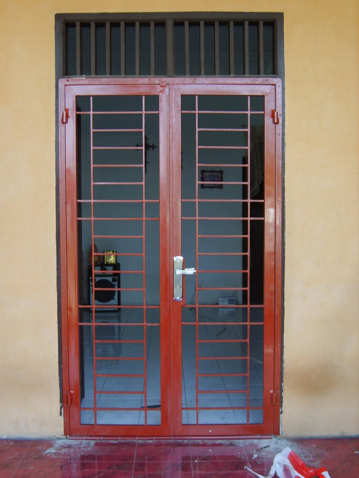 Gambar pintu kasa nyamuk  ArbainlascomBengkel las