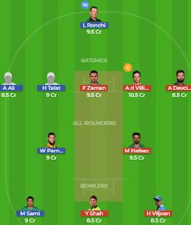ISL vs LAH Dream11 Team Prediction | Islamabad United vs Lahore Qalandars: Best Players