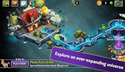 cara main Plants vs Zombies 2