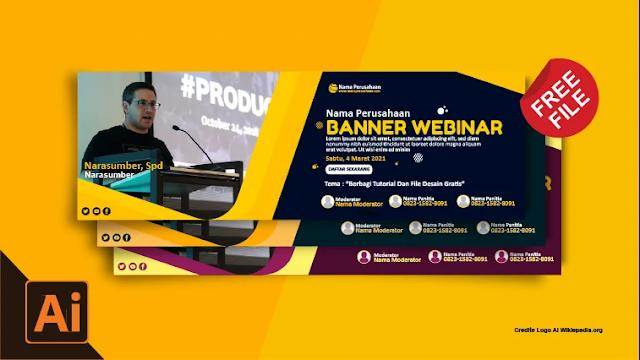 Free Banner Seminar : Download Kumpulan Spanduk Seminar Coreldraw Gratis