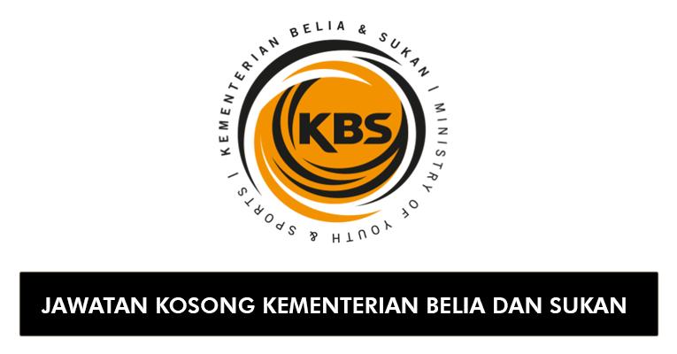 Jawatan Kosong di Kementerian Belia dan Sukan KBS