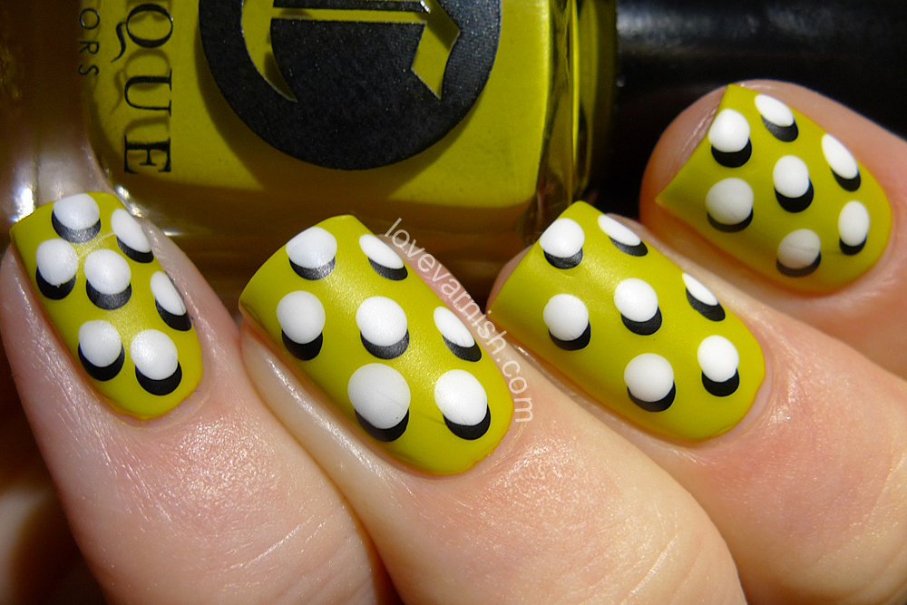 Love Varnish: Nail art // Paint All The Nails Presents Dotticures
