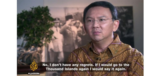 """Ahok Tidak Menyesal dan Tidak Kapok, Jika Saya ke Pulau Seribu Akan Saya Ulangi Lagi """""""