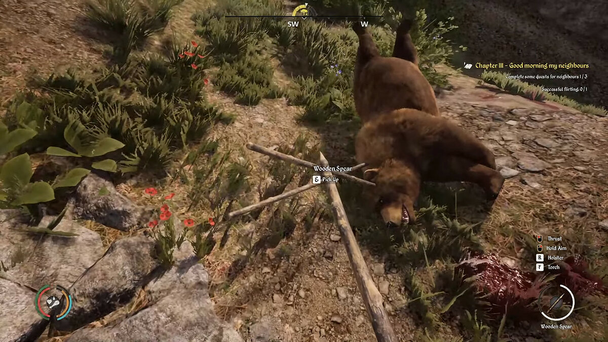 How to kill a bear in Medieval Dynasty