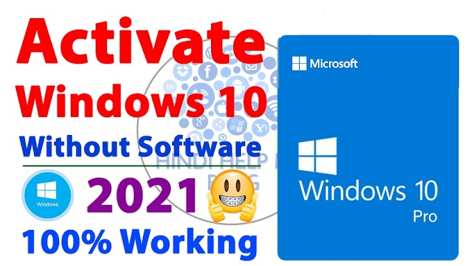 Activate Windows 10 for FREE 100% Working🔥 | how to activate windows 10 without any software 2021