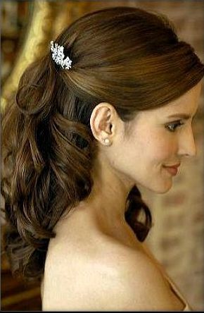 New Hair  Half Up Half Down Wedding Hairstyles