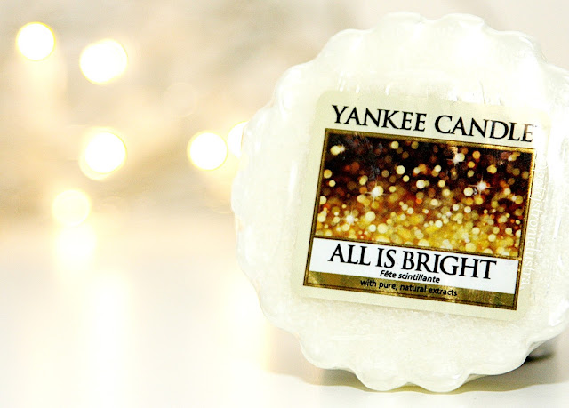 recenzja wosku yankee candle all is bright