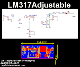 LM317 Adjustable Circuit