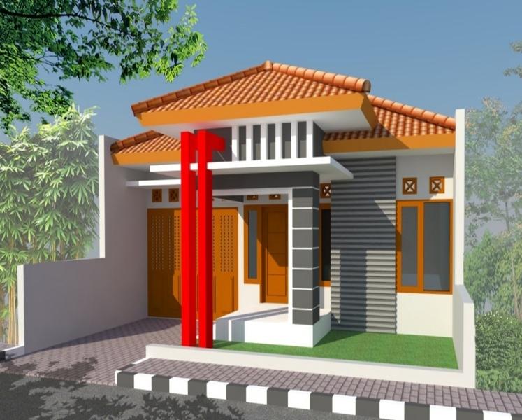 gambar rumah sederhana model baru desain gambar