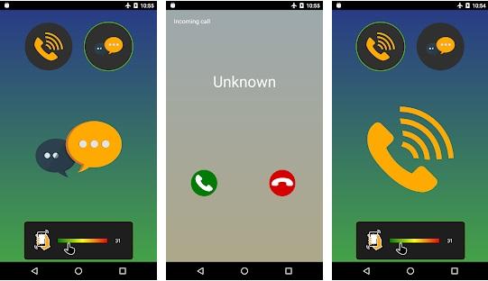 تطبيق عمل مكالمات وهمية كأنها حقيقية 100٪ رهيب لا يفوتك