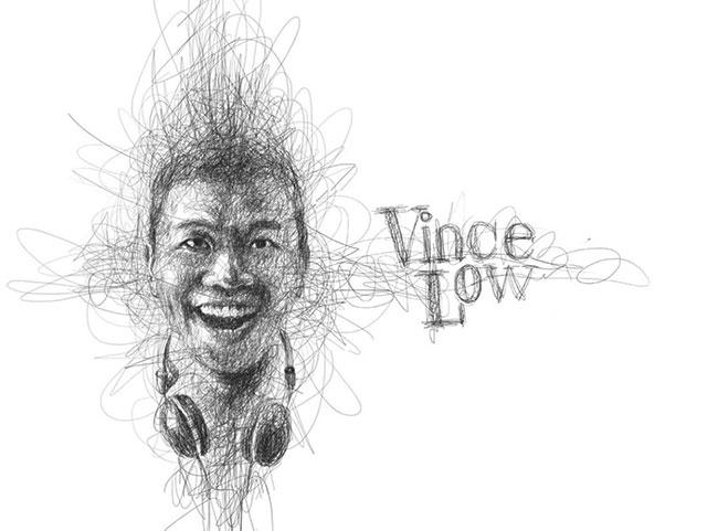 Vince Low, La Dislexia y El Arte del Garabato by Saltaalavista Blog