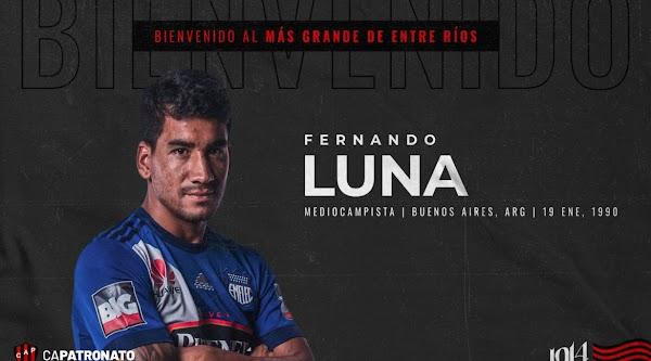 Oficial: Patronato, firma Fernando Luna