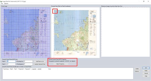Ilustrasi Georeferencing - Tutorial Global Mapper