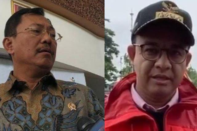 Jawaban Mengagumkan Gubernur Anies Saat Dirinya Diserang Menteri Terawan