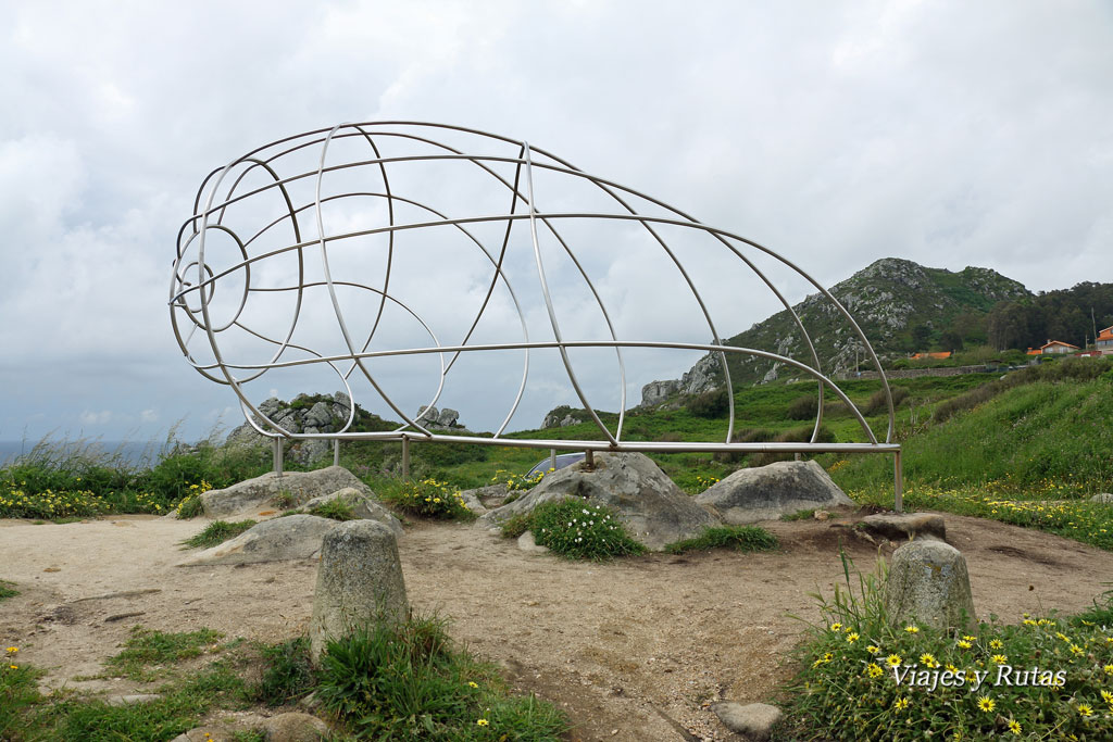 La caracola, Cabo do Home, Pontevedra