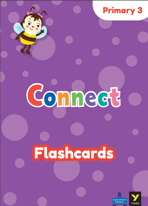 Connect 3_Flashcards فلاش كاردز الصف الثالث الإبتدائى الترم الأول 2021