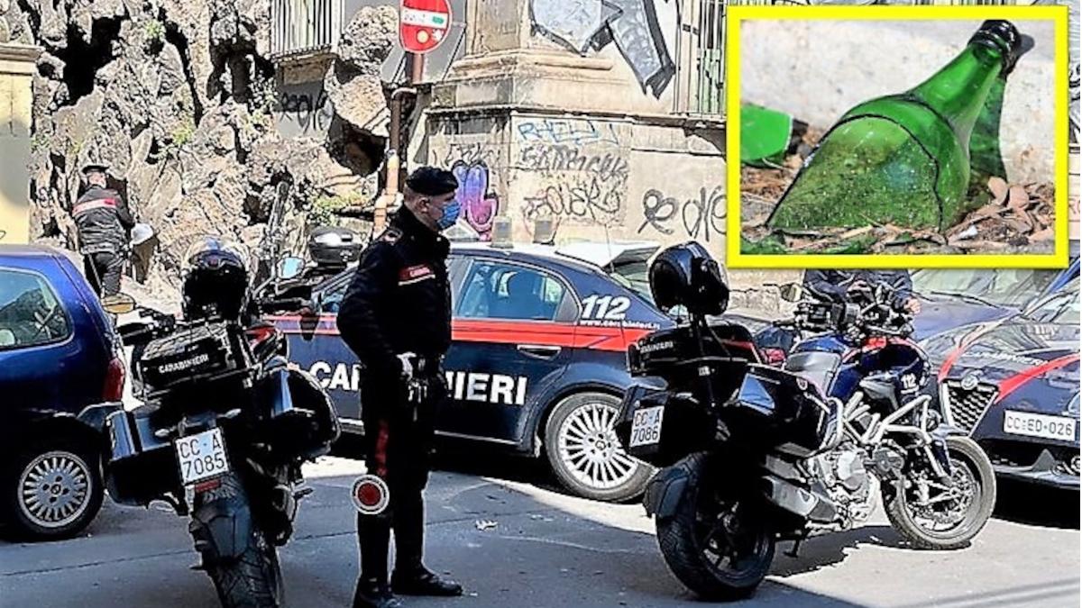 lite gambiani Sangiuliano Carabinieri