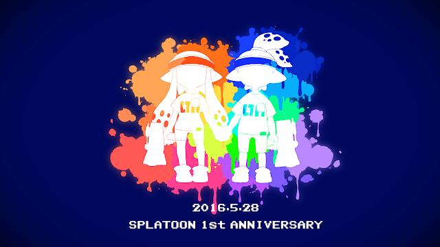 Splatoon Anniversary