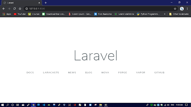how-to-install-laravel-in-windows-in-hindi