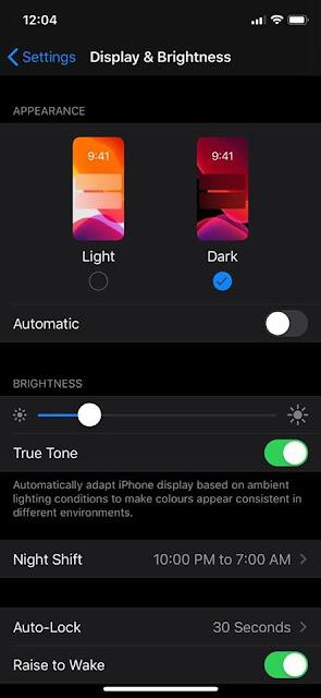 Mengaktifkan Mode Gelap di Instagram - iOS 13