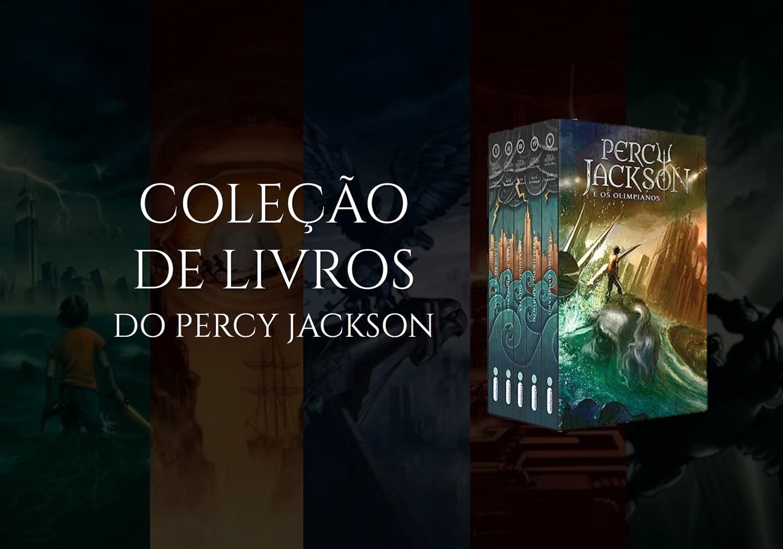 Coleção de Livros do Percy Jackson Grátis