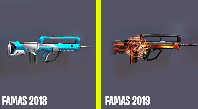 Review dan Analisis RIP Quick Scope Famas Patch 1.41.0 Free Fire