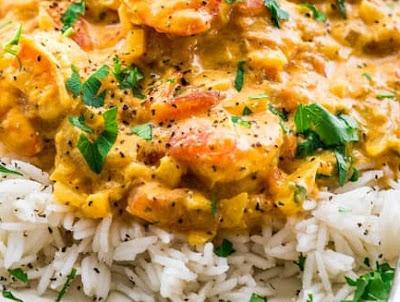 Keto Dinner 15 Minute Coconut Curry Shrimp Blog Recipes