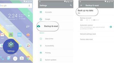 Cara Restore Data dan Aplikasi Android Dari Google