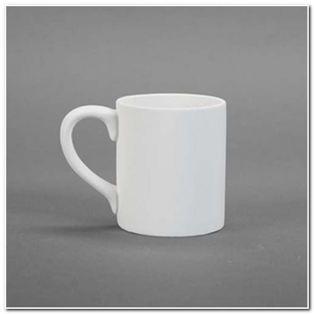 PLAIN WHITE COFFEE MUGS